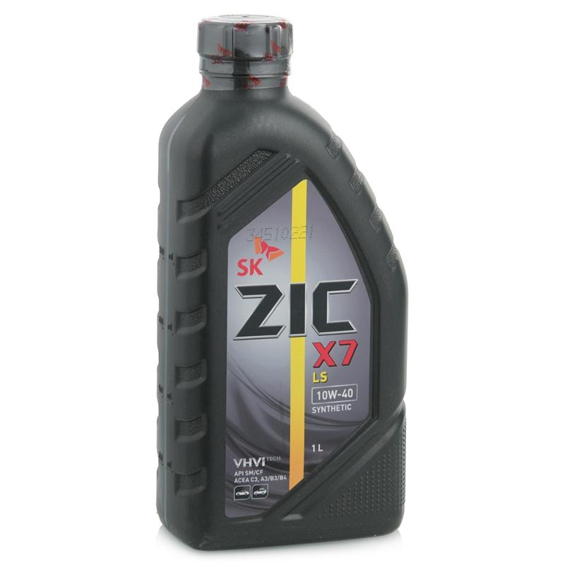 Моторное масло ZIC R X7 LS 10w40 SM/CF