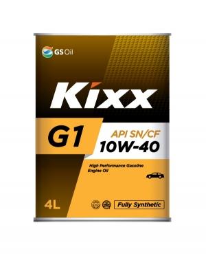 Моторное масло KIXX 10W40 G1 SN