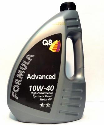 Моторное масло Q8 Oils Advanced 10W-40