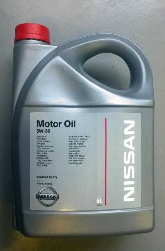 Моторное масло NISSAN 5w30 CF/SM, C3