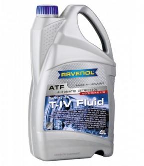 Жидкость для АКПП RAVENOL ATF T-IV Fluid