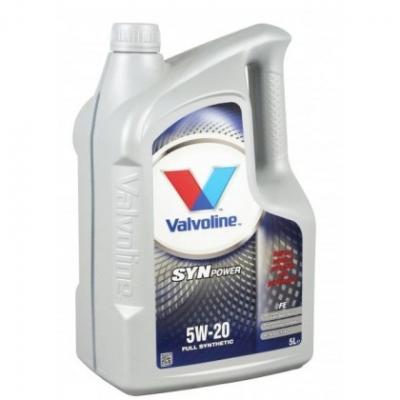 Моторное масло VALVOLINE SYNPOWER FE 5w20 SW