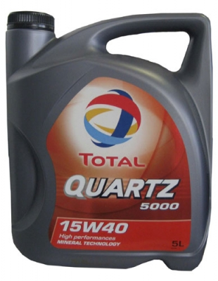 Моторное масло TOTAL 15w40 5000 Quartz