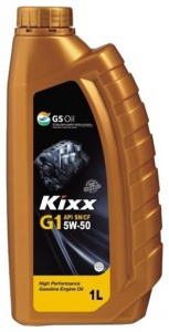 Моторное масло KIXX 5W50 G1