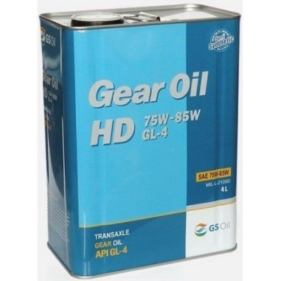 Трансмиссионное масло KIXX 75W/85W FF GL-4 (HD)