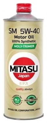 Моторное масло MITASU 5W40 MOLY-TRiMER SM