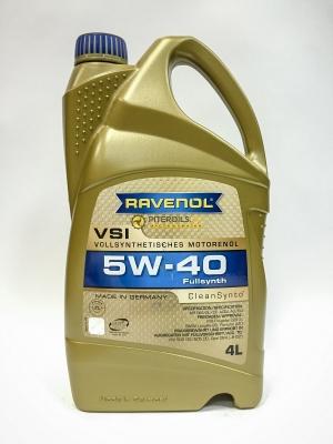 Моторное масло RAVENOL  5w40 VSI