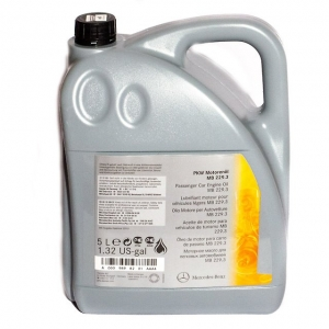 Моторное масло MERCEDES 5w40 229,3
