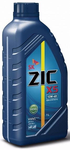 Моторное масло ZIC X5 10w40 Diesel