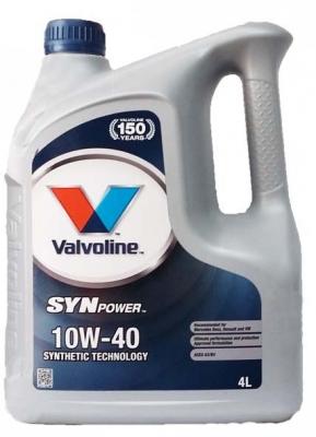 Моторное масло VALVOLINE Synpower 10w40