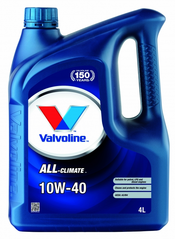Моторное масло VALVOLINE ALL CLIMATE 10w40 EXTRA
