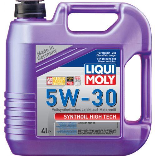 Моторное масло LIQUI MOLY 5w30 Synthoil High Tech