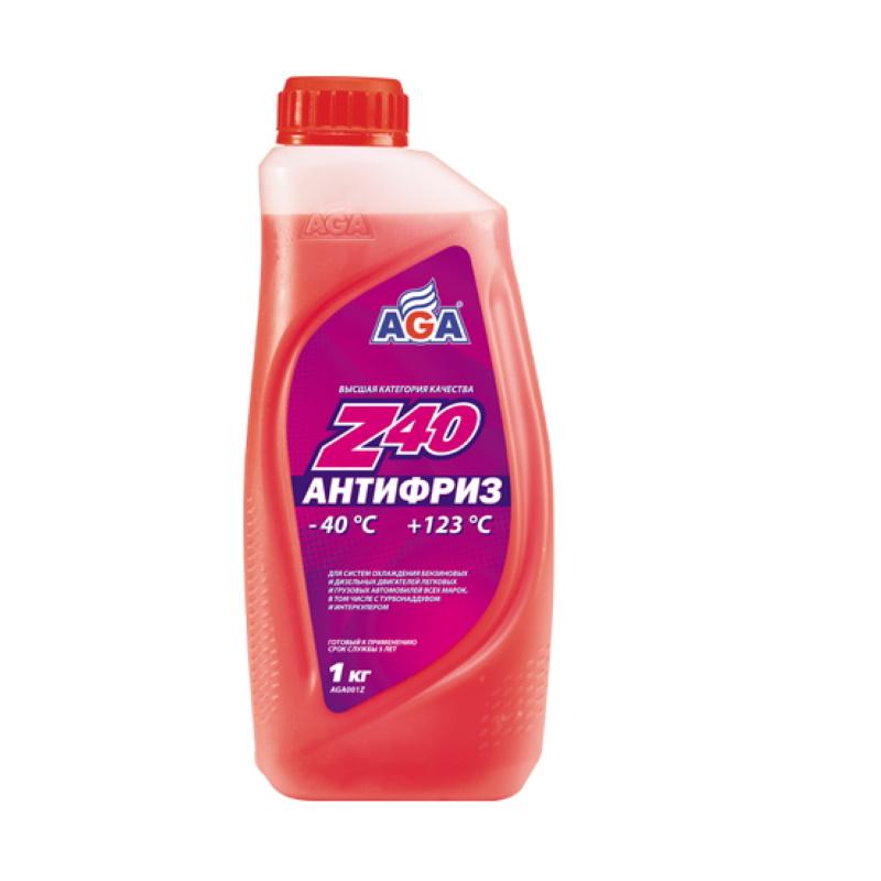 Антифриз AGA Красный 0,946л