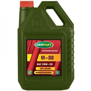 Моторное масло ОЙЛРАЙТ M-8B 20w20