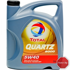 Моторное масло TOTAL 9000 5w40 Quartz