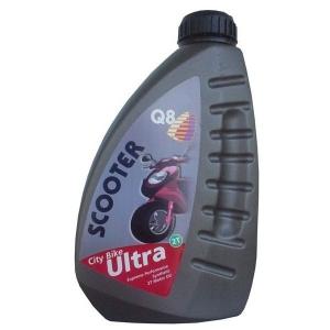 Моторное масло для мототехники Q8 Oils 2T Scooter City Bike Ultra
