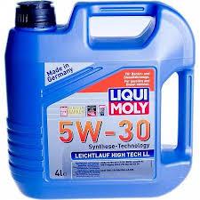 Моторное масло LIQUI MOLY 5W30 Leichtlauf High Tech LL