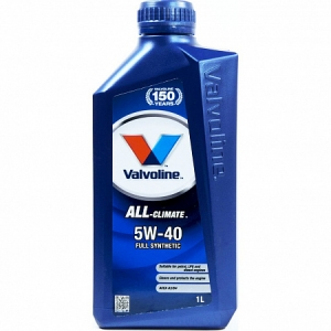 Моторное масло VALVOLINE ALL CLIMATE 5w30