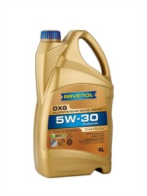 Моторное масло RAVENOL 5w30 DXG SAE