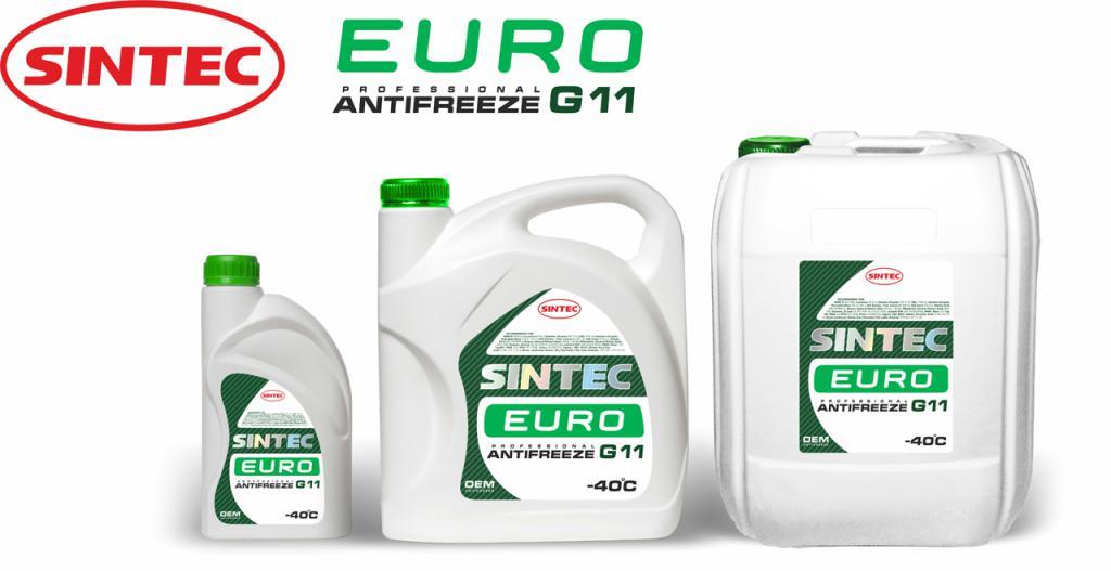 Антифриз SINTEC Зеленый 3л