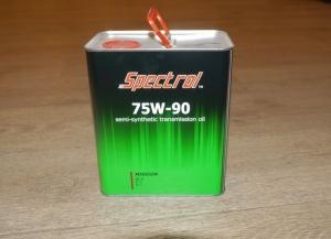 Трансмиссионное масло SPECTROL 75w90 Миссия GL-4/5