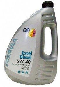 Моторное масло Q8 Oils F Excel 5W-40 Diesel