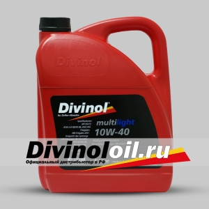 Моторное масло DIVINOL 10w40 Multilight