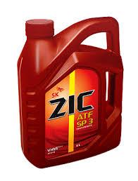 Трансмиссионное масло ZIC ATF SP 3
