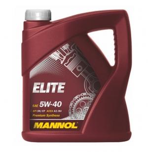 Моторное масло MANNOL 5W40 Elite