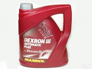 Трансмиссионное масло MANNOL Dextron III 4л (Полусинтетика)