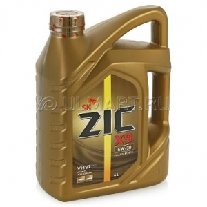 Моторное масло ZIC X9 5w30