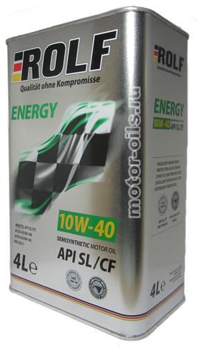 ROLF Energy 10W-40 SL/CF