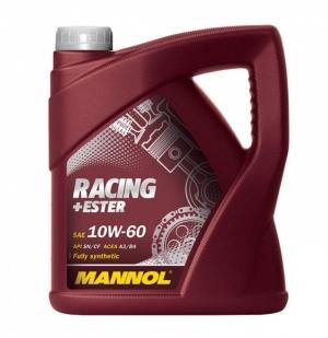 Моторное масло MANNOL 10W60 Racing+Ester