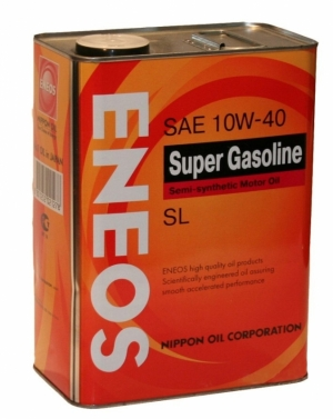 Моторное масло ENEOS 10W40 Super gazsoline SL