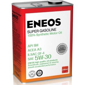 Моторное масло ENEOS 5w30 SM Super Gasoline