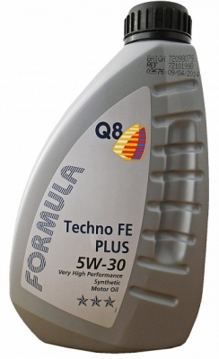 Моторное масло Q8 Oils F Techno Fe Plus 5W-30