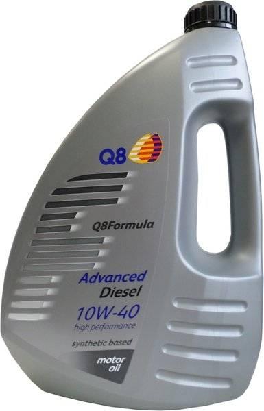 Моторное масло Q8 Oils F Advanced 10W-40 Diesel