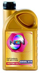 Моторное масло NGN 5w40 DIESEL SYN SN/CF