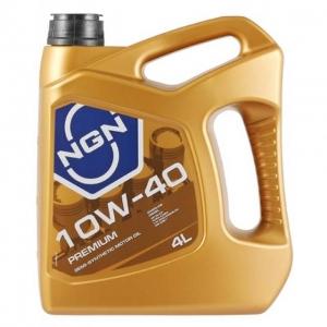 Моторное масло NGN 10w40 Premium SL/CF