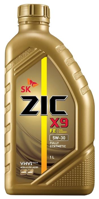 Моторное масло ZIC X9 FE 5w30