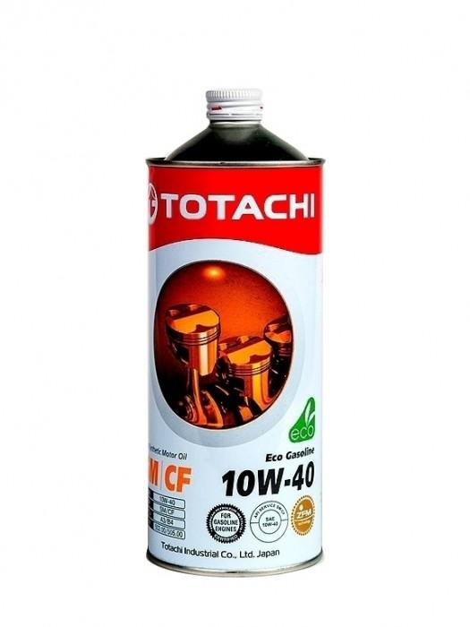 Масло TOTACHI 10w40 SN Eco Gasoline 1л (Полусинтетика)