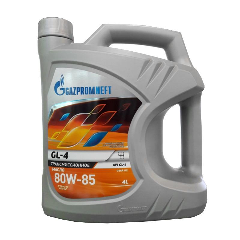 Трансмиссионное масло GAZPROMNEFT 80W85 GL-4 4л (Минеральное)