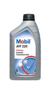 Трансмиссионное масло MOBIL ATF 220 1л (Минеральное)