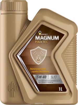 Масло РОСНЕФТЬ 5W40 Magnum Maxtec 1л (Полусинтетика)