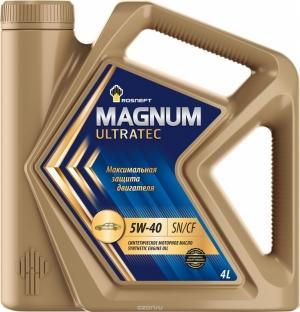Масло РОСНЕФТЬ 5W40 Magnum Ultratec 4л (синтетика)