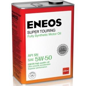 Масло ENEOS 5W50 SN Super Touring 4л (Синтетика)