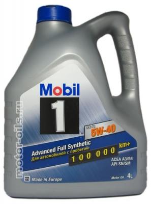 Масло MOBIL 5w40 FS X1 4л (Синтетика)