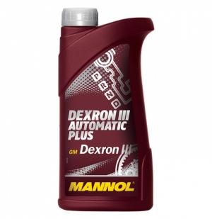 Трансмиссионное масло MANNOL Dextron III 1л (Полусинтетика)