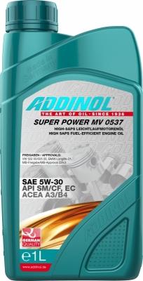 Масло ADDINOL 5W-30 SM Super Power 1л (Синтетика)