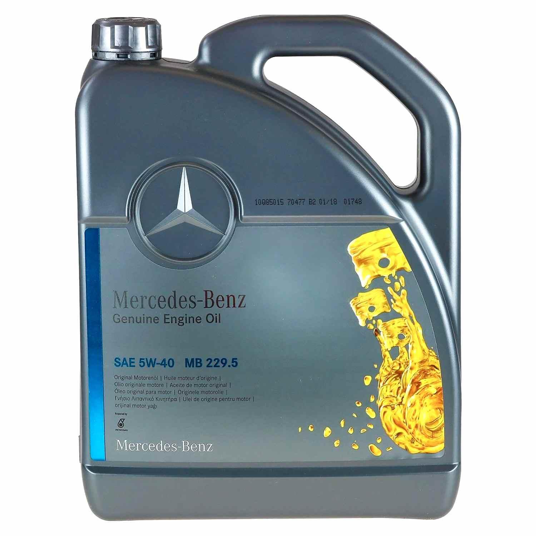 Масло MERCEDES 5w40 229,5 5л (Синтетика)